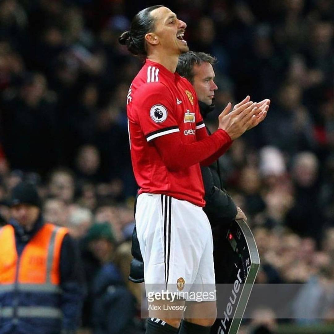 He returned ️ @iamzlatanibrahimovic  #welcomeback #zlatan #zlatanibrahimovic #ibra …
