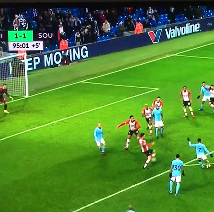 #sterling saves CITY with a clutch goal in 95 minutes! Nobody can stop the man …