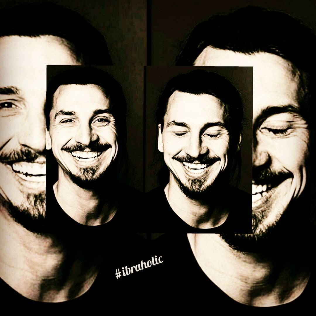 Hardly his smile always rescues the day @iamzlatanibrahimovic #ibraholic #dareto …