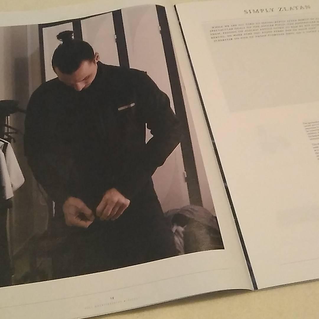 @iamzlatanibrahimovic on #VoltMagasin version 10 #mag #magazine #volt #magazinecol …