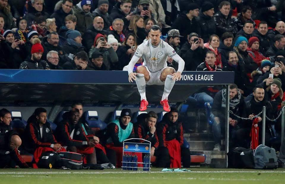 When Zlatan Ibrahimovic jumps the world is amazed  #football #soccer #futbol …