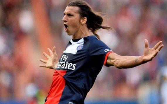 Zlatan Ibrahimovic – นักฟุตบอลที่ชื่นชอบ♥♥ # psg # paris # france