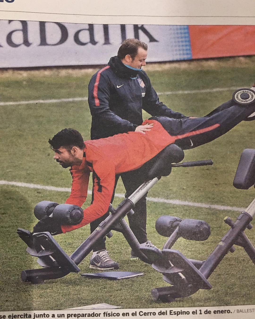ดิเอโกคอสต้ากลับมาอยู่ในสโมสรซึ่งทำให้เขายิ่งใหญ่ Atletico Madrid เขามีผึ้ง …