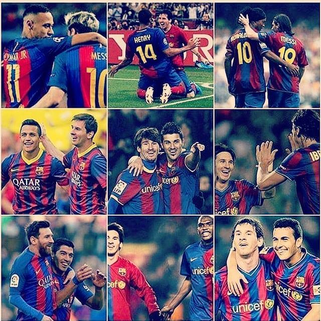 คู่ค้าทั้งหมด  #lionelmessi #messi #fcbarcelona #barcelona #campnou #neymar …