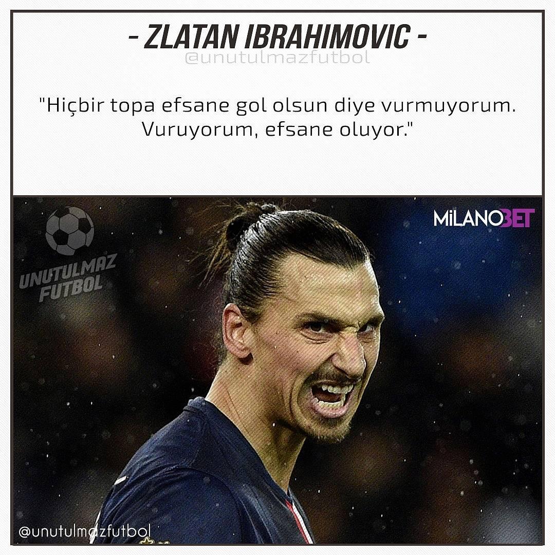 Zlatan Ibrahimovic @UnutulmazFutbol สำหรับข้อมูลเพิ่มเติม หน้าภาพยนตร์ของเราที่ @unutulma …
