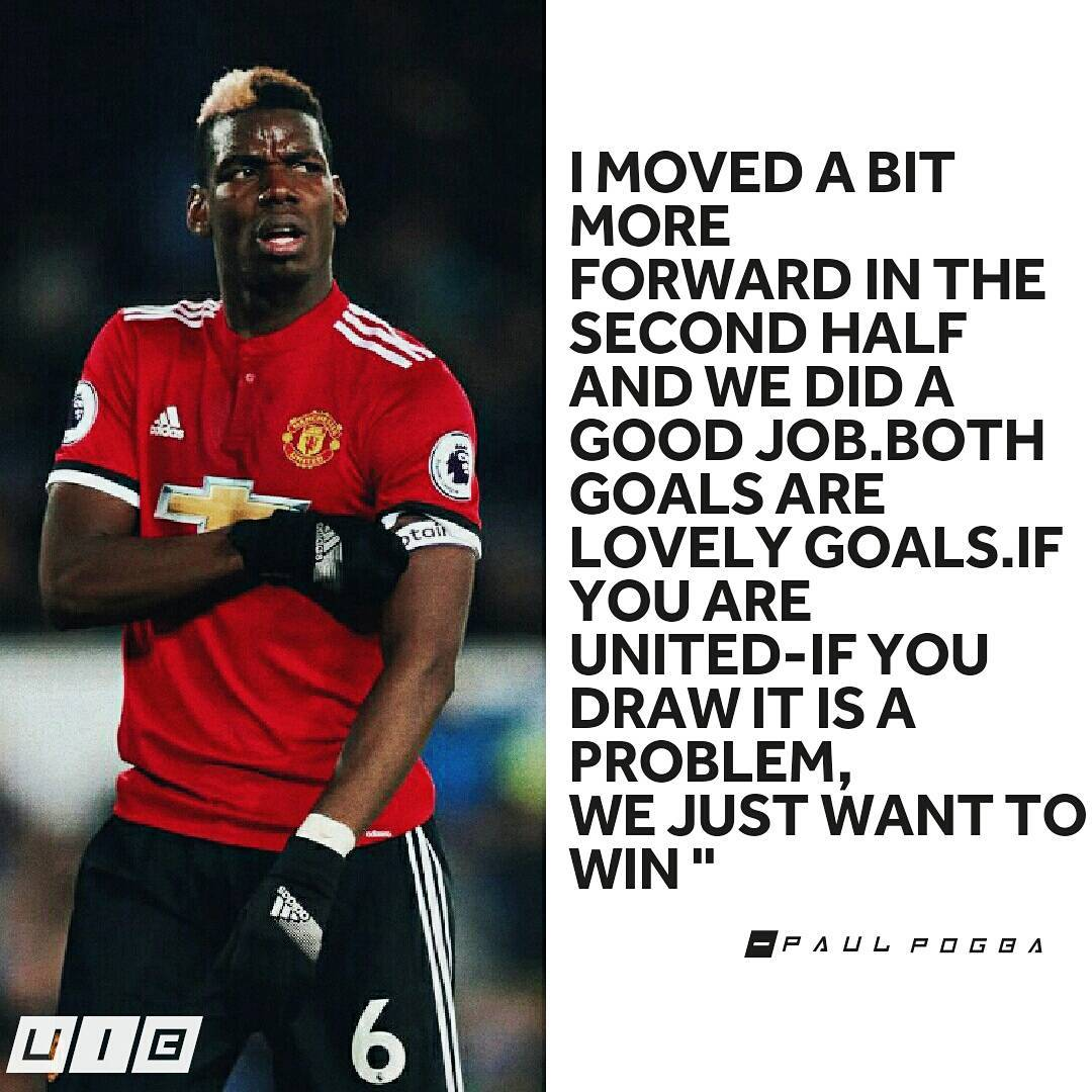 Paul Pogba speaks .. # mufc # ggmu # goals # reddevils # redevils # manunited # upunited # strent …