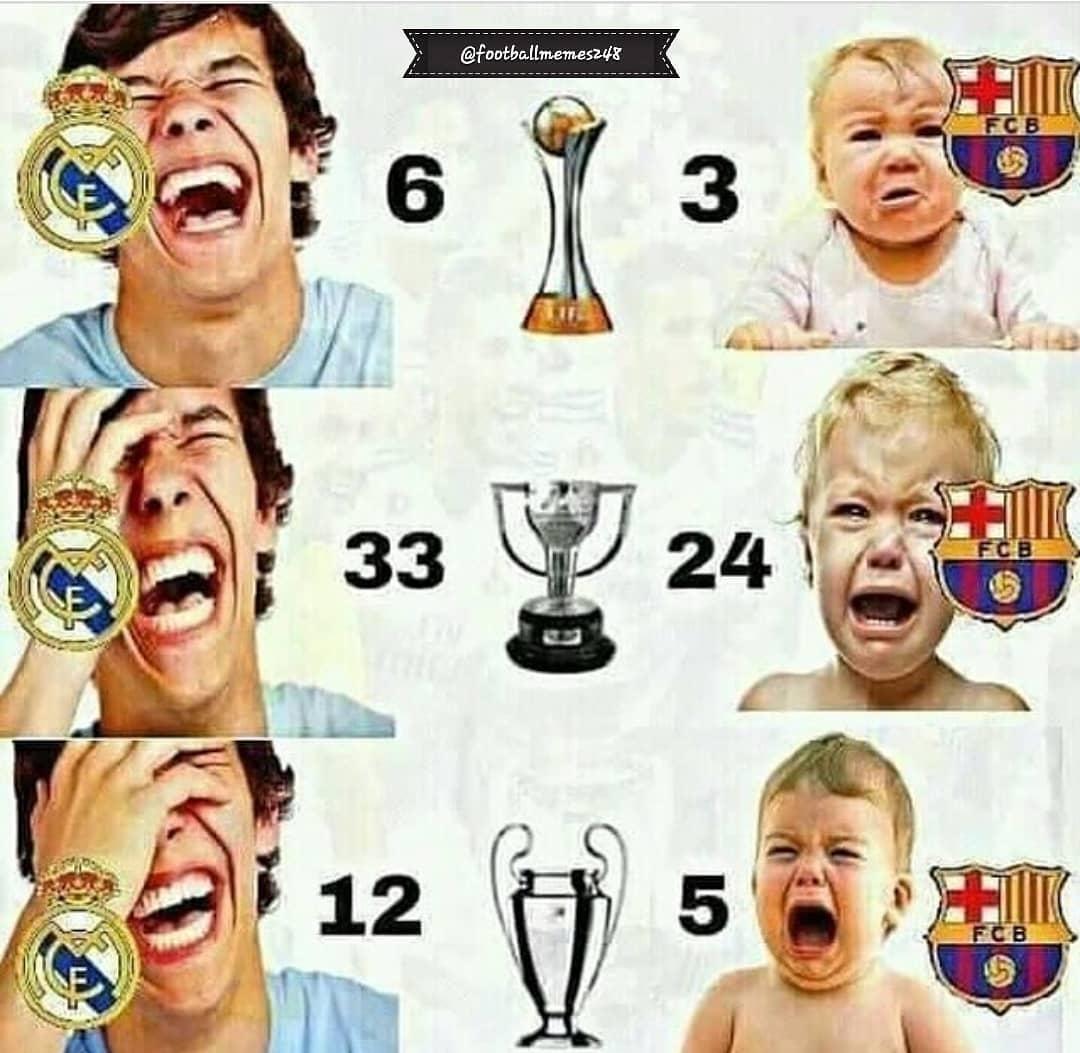 ทำตาม @ footballmemes248 . . . . . #messi #ronaldo #benzema #football #soccer #f …