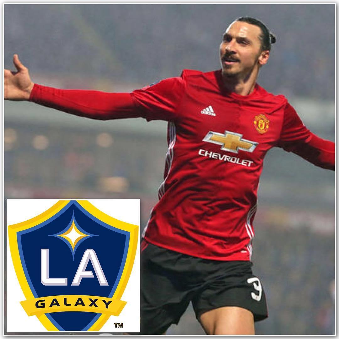 ซุปเปอร์สตาร์กองหน้า Zlatan Ibrahimovic กำลังเดินทางไป Manchester Unit …