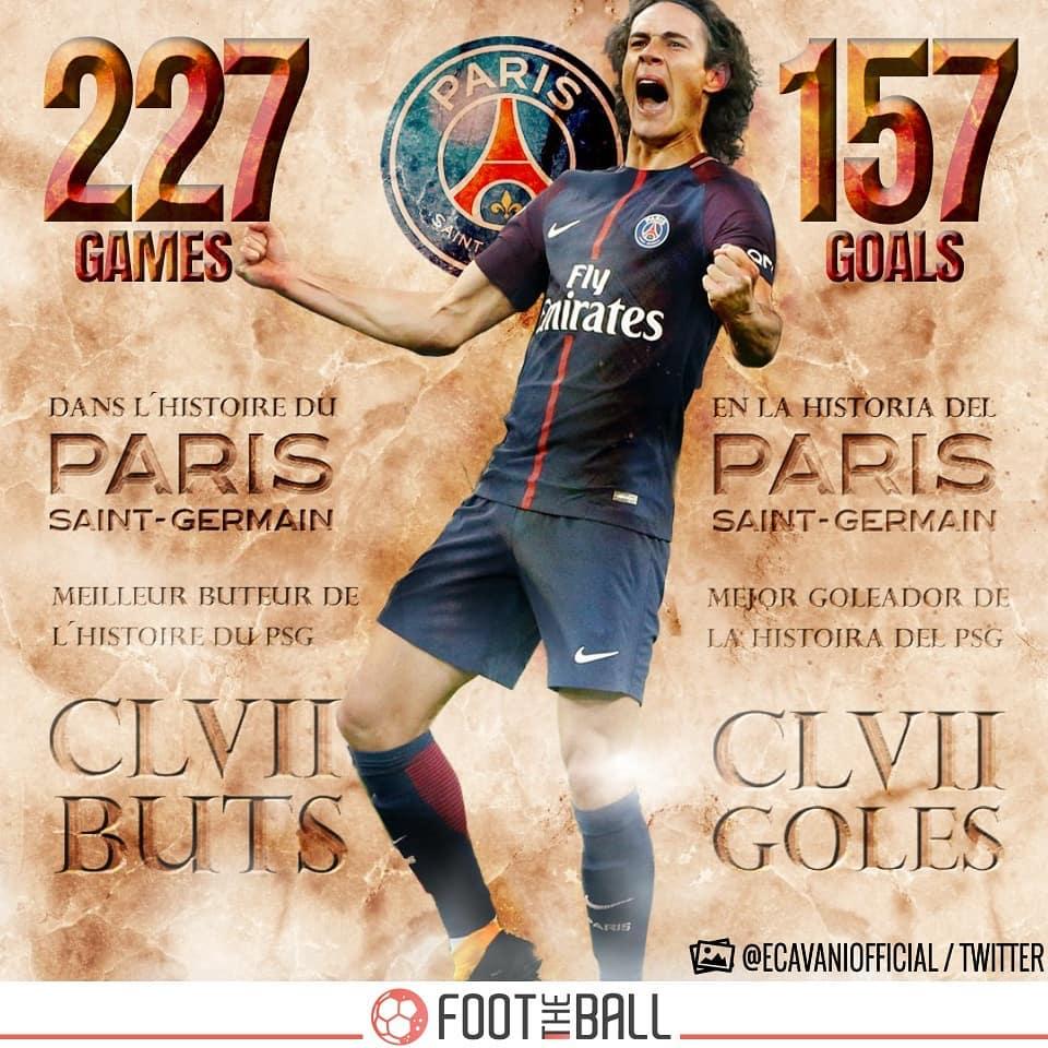 ย้ายไป Zlatan พบกษัตริย์องค์ใหม่ในปารีส ผ่าน – @ cavaniofficial21 . . #edins …