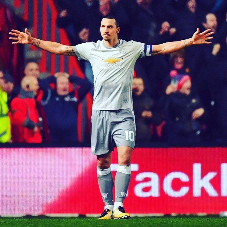 มีเพียงหนึ่ง Zlatan และเขากลับมาแล้ว! #zlatanibrahimovic #manchesterunited #s …