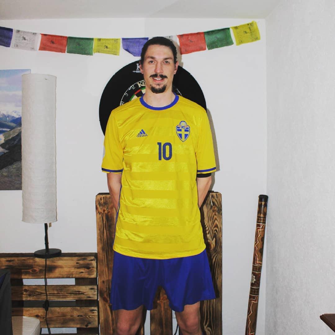 #therealzlatan #zlatanibrahimovic #sweden # 10 #zlatanisiert …