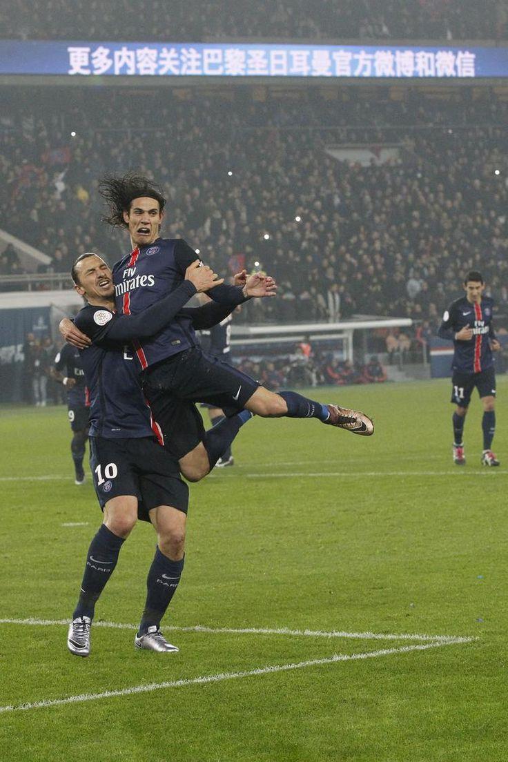 Zlatan Ibrahimovic – Edison Cavani