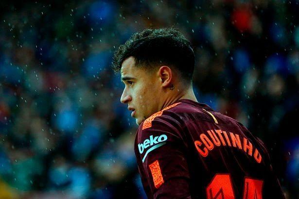 Coutinho ทำประตูแรกให้ Barca !!!! •••  #football #futbol #soccer #f …
