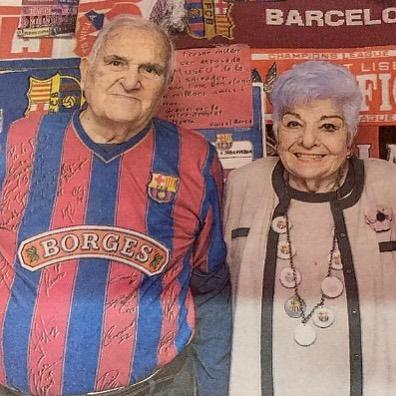 Nuria Grau และสามีของซัลวาดอร์ Torrents มีขนาดเล็ก FC Barcelona Collection …