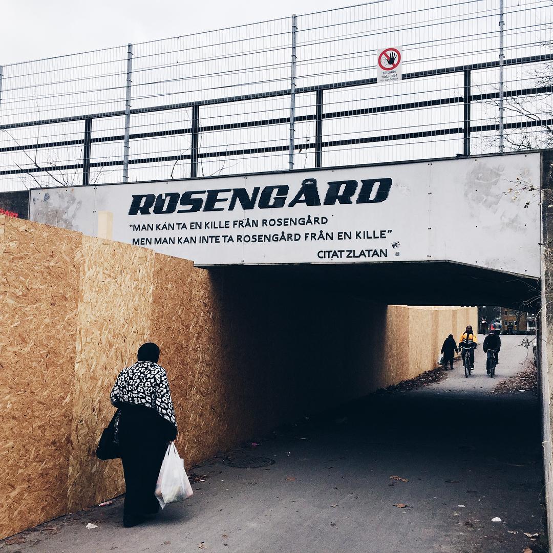 เยี่ยมชมRosengårdในเมืองMalmöประเทศสวีเดนที่ Zlatan Ibrahimovic เกิด …