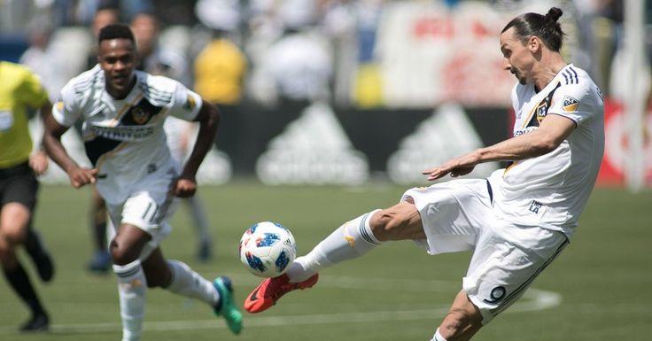 การเปิดตัวของ Zlatan Ibrahimovic ในลอสแอนเจลิสเป็นเรื่องน่าทึ่ง
