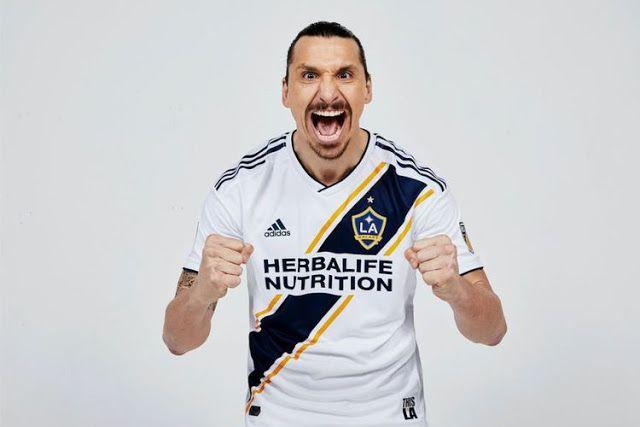 LA Galaxy ดูผู้เล่นใหม่ของเขา Zlatan Ibrahimovic