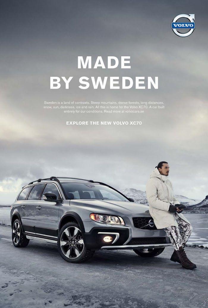NOW NOW … Volvo และ Zlatan Ibrahimovic หน่วยข้อความ