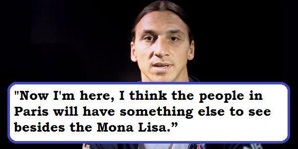 """คำคมตลกฟอร์ตี้ใน Twitter: """"Zlatan Ibrahimovic ในการเดินทางของเขาไป …"""