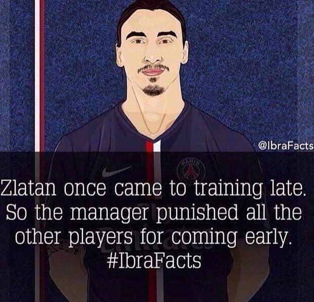 Zlatan Ibrahimovic ทุกคน!