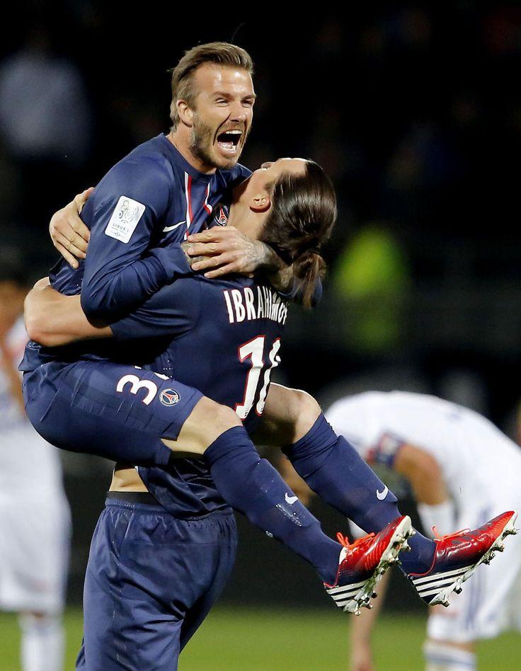 david beckham | David Beckham และ Zlatan Ibrahimovic ในชัยชนะของ PSG และ …