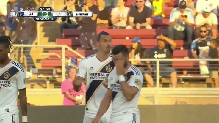 ซานโฮเซ่ 1- [3] LA Galaxy – Zlatan Ibrahimovic ฟรีคิก 25 & # 39;