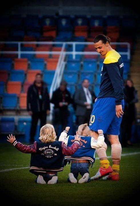 Zlatan และลูก ๆ ของเขา