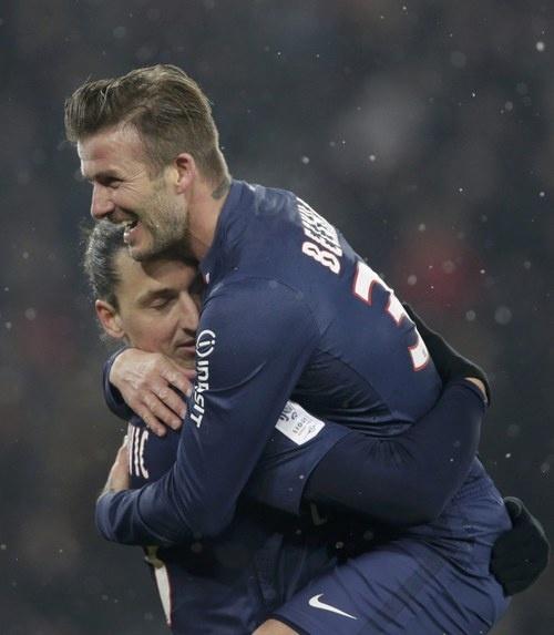 PSG Zlatan & Beckham ♥ – www.rwin888.com