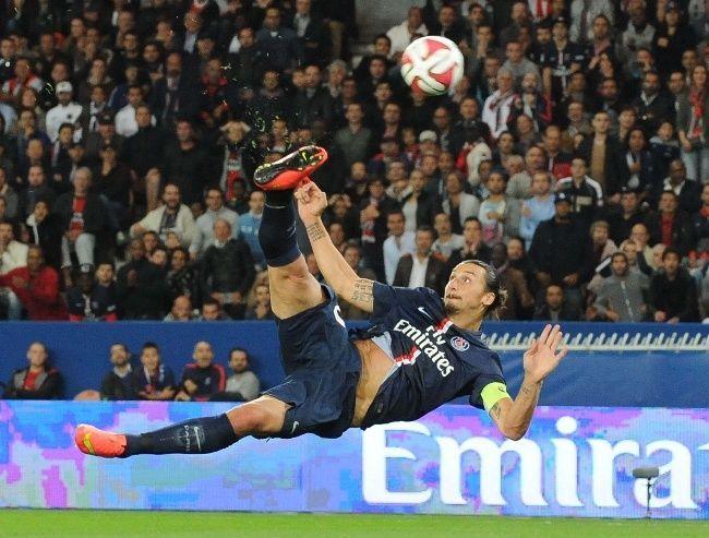 Zlatan Ibrahimovic Paris Saint-Germain โปสเตอร์ 4 [Multiple Sizes] ฟุตบอลยูโร