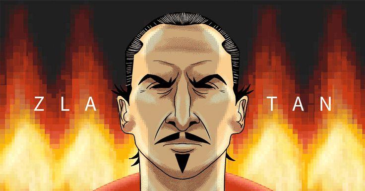GIF / Giphy ทันสมัยใหม่ มาร์คแมนเชสเตอร์ยูไนเต็ด Mufc Zlatan Man Utd Pogba Zlatan I …
