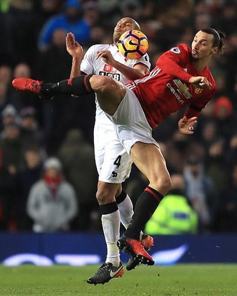 Zlatan Ibrahimovic vs Swansea City พ.ย. 06 2016 IBRACADABRA