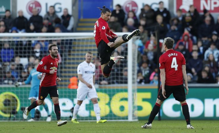 Zlatan Ibrahimovic กับ Swansea City Nov.06, 2016. IBRACADABRA – สไตล์เทควันโด …