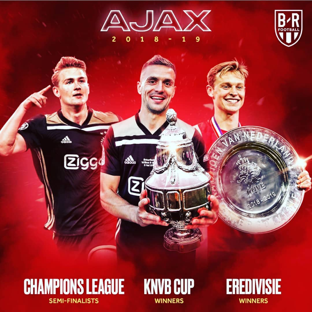 #Ajax ในปีนี้ #championsleague #instagood # sports # Pasion #messi #serieA #prem …