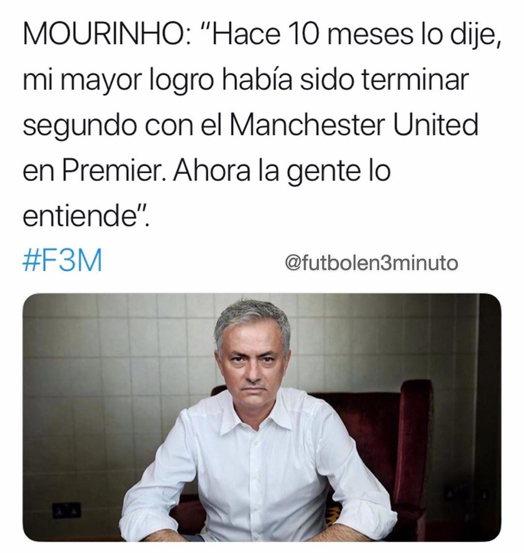 ไม่ใช่Mörinhoพวกเขาเป็นผู้เล่น United มันเป็นโดยเซอร์อเล็กซ์เฟอร์กูสัน: ▪️20 …