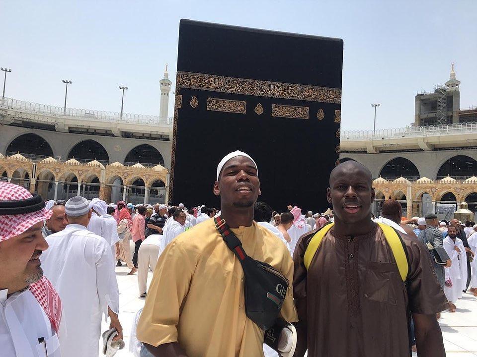 #Pogba & #KurtZouma เพลิดเพลินไปกับ #Ramadan ใน #Mecca …