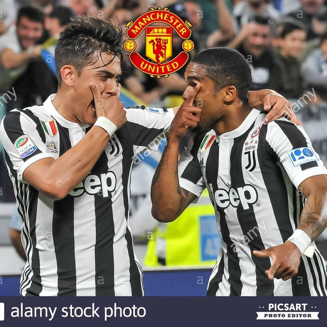 Juventus พร้อมที่จะนำเสนอ @paulodybala และ @douglascosta สำหรับ abarat …