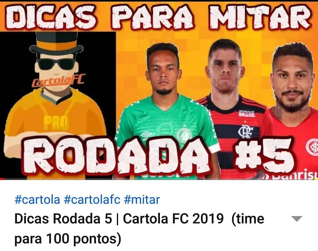 มันเกี่ยวข้องกับ Mitar ในคำแนะนำของคุณในรอบนั้นใน Cartola FC ลิงก์วิดีโอใน …