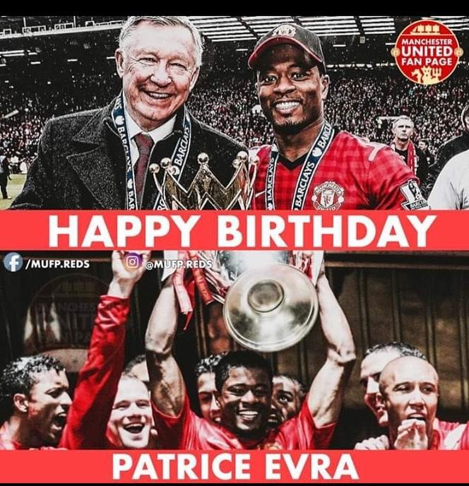 สุขสันต์วันเกิด Patrice Evra! 379 เกม 10 เป้าหมาย 40 ช่วย  5 พรีเมียร์ …