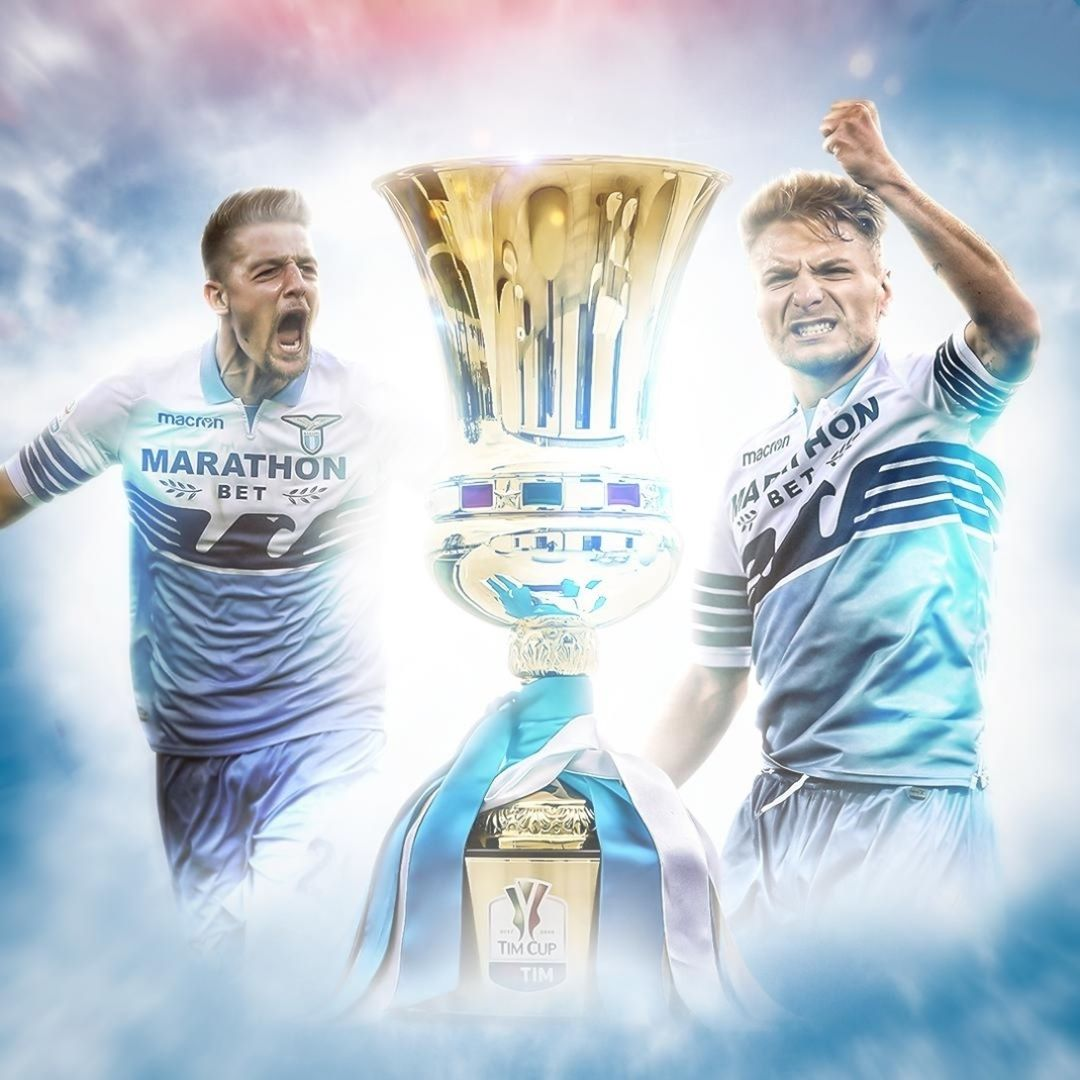 Lazio ได้รับรางวัล Coppa Italia! 🦅🇮🇹  #soccer #sports #sportsnews #entertainmen …