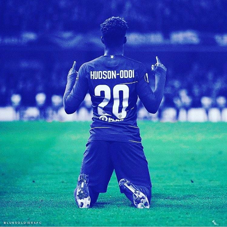 Callum Hudson-Odoi รับเสื้อหมายเลขอันตราย 10 ของ Eden ถ้าเขาไป? #barcelona …