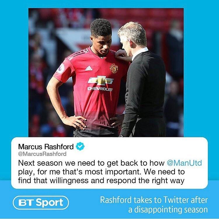 Rashford พูดแล้ว . . .credits @btsport #mufc #marcusrashford #jlingz #manch …