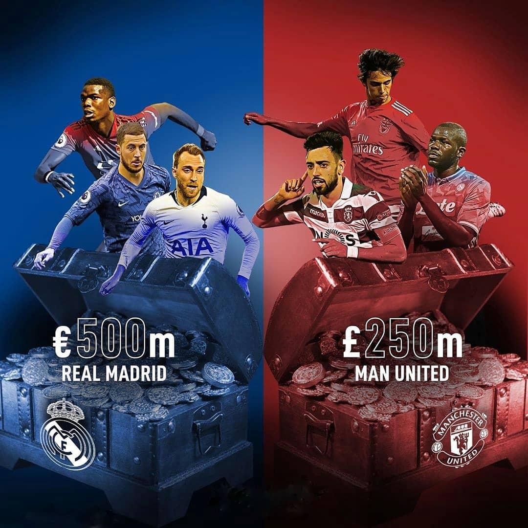 แผนการถ่ายโอนของ Real Madrid และ Man Utd … . #mufc #manunited #manchesterunited #re …