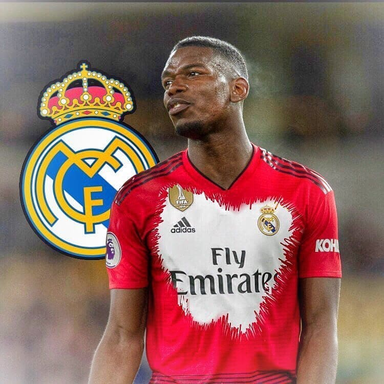 Paul Pogba ของ Real Madrid, Manchester United กองกลาง Paul Pogba …