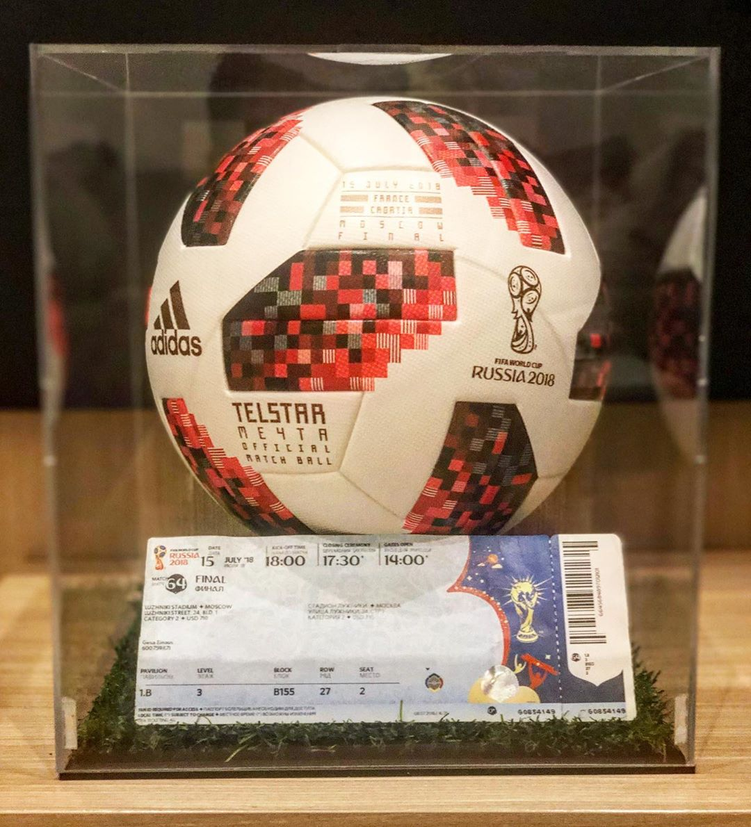 Telstar 18 Meyta – ฝรั่งเศส vs โครเอเชียรอบชิงชนะเลิศ World Cup 2018 # telstar18 #adidasOMB # …