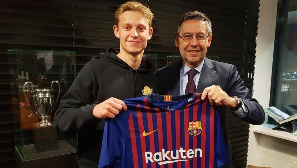 FRENCHI DE JUNG: ฉันไม่รู้หมายเลข Barcelona ของฉัน แต่ชื่อนั้นมาจาก Di J …