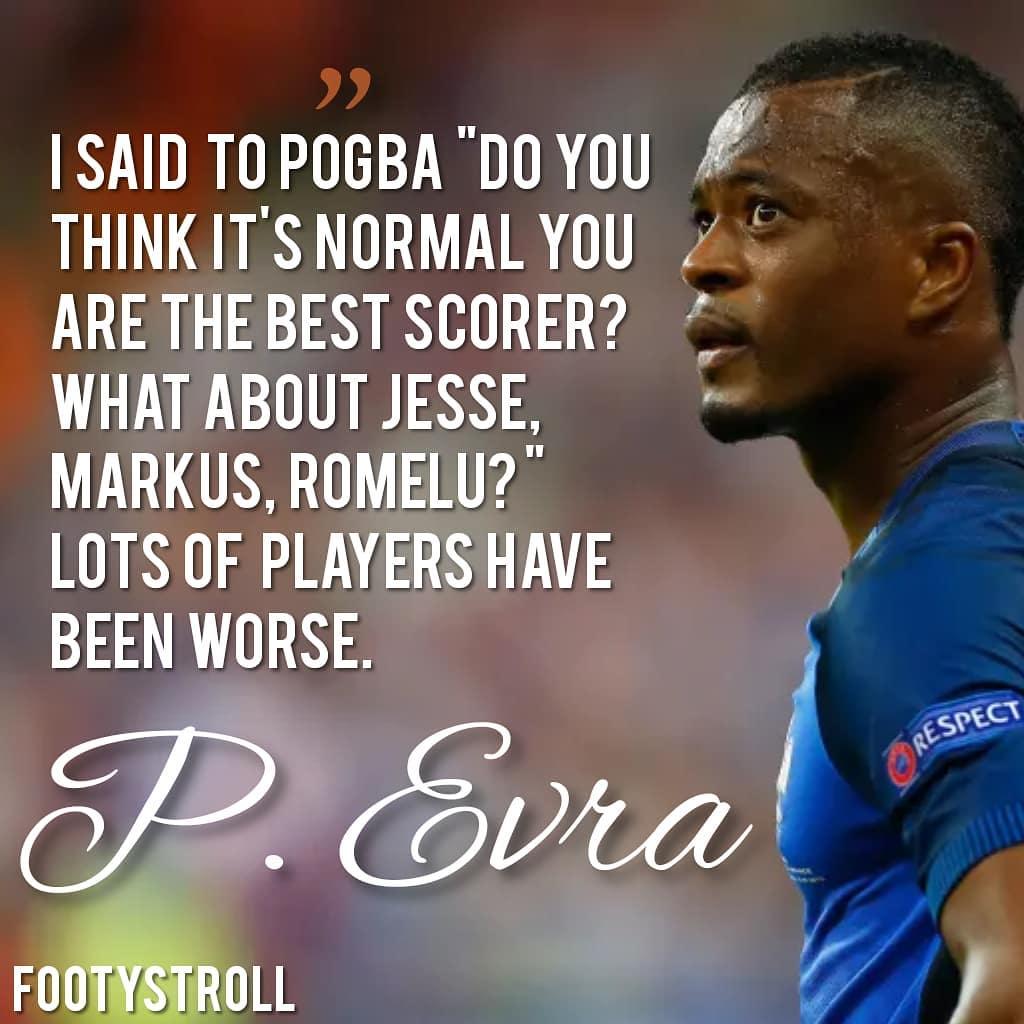 คุณเห็นด้วยกับยูโรหรือไม่ • • • • #evra #france #juventus #manchesterunited #pogb …