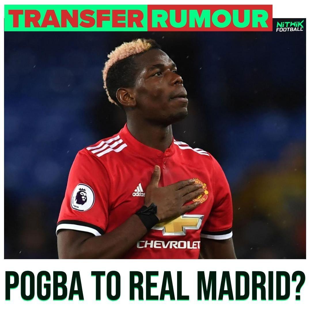 #RealMadridCF ได้ดำเนินการตามขั้นตอนสำหรับ Paul Pogba ด้วย #ManchesterUnited เพื่อเพิ่ม …