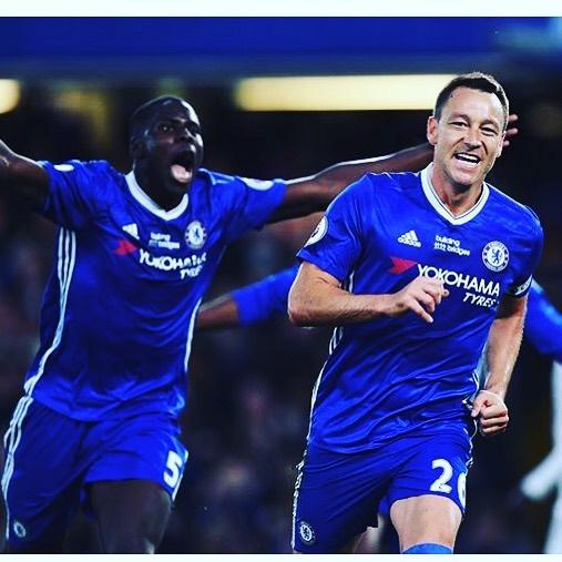 กัปตันหัวหน้าตำนาน John Terry ทำประตูสุดท้ายของเขาสำหรับ Chelsea vs Wa …