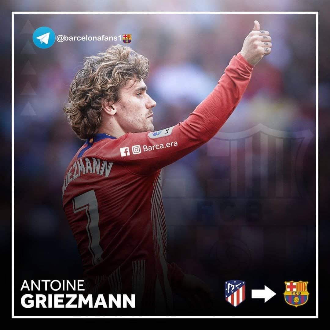 Atlético Madrid ถือว่า Griezmann ได้บรรลุข้อตกลงกับ Barcelona ใน …