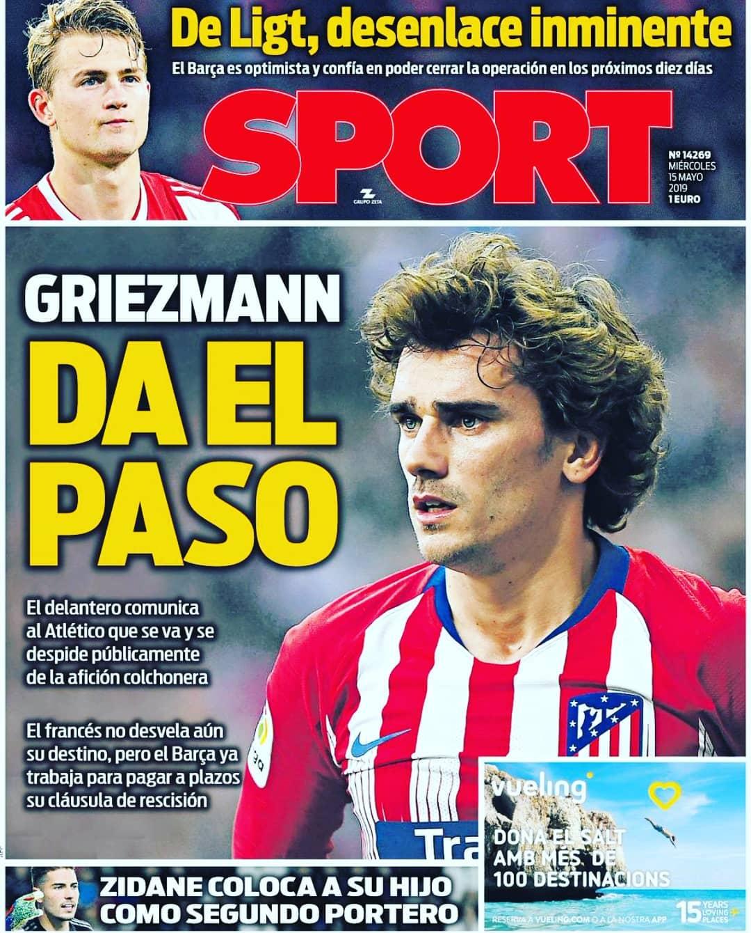 Portada @diariosport #championsleague #instagood #sports #pasion #messi #serieA …